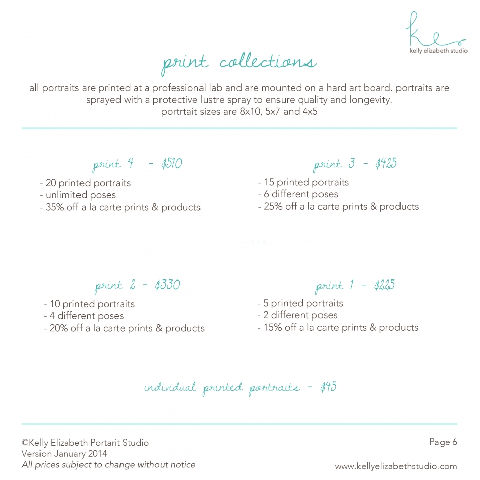 print collections pricing » Kelly Elizabeth Studio | Rochester ...: kellyelizabethstudio.com/portrait-collections-photo